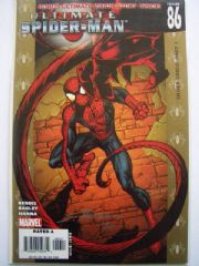 Ultimate Spider-man #86 DF Signed Scott Hanna COA Ltd 100